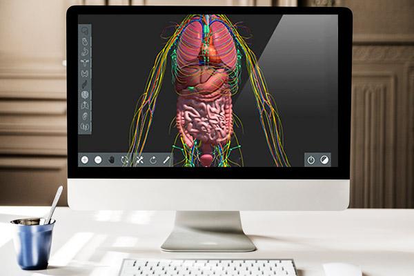 Human atlas interactivo 3D soluciones