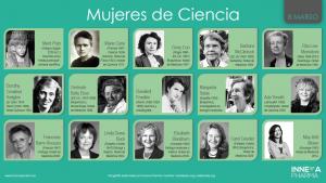 mujeres de ciencia selección de Inneva Pharma