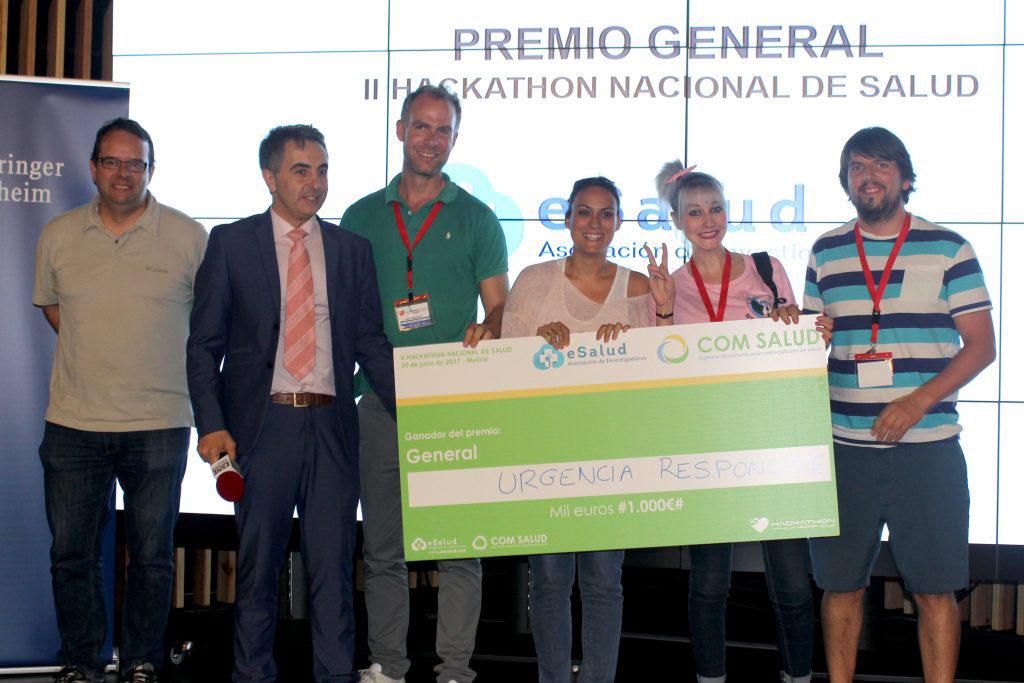 Inneva Pharma recoge el premio Hackathon Nacional de Salud