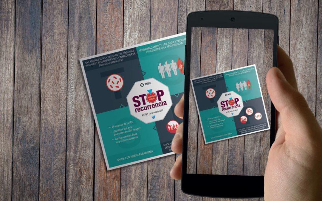 Realidad aumentada STOP ICD