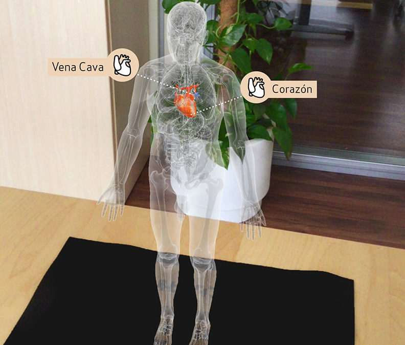 Realidad aumentada aplicaciones salud Inneva Pharma