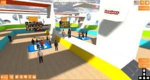 Evento gamificadode formación corporativa en entorno virtual 3D TED