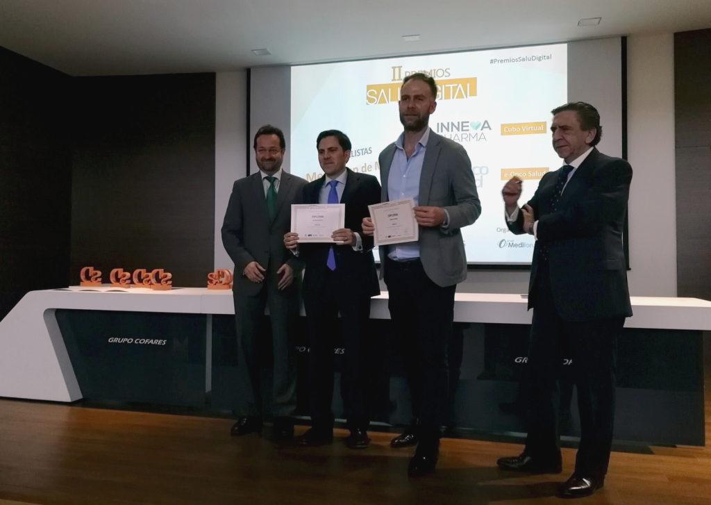 Premios SaluDigital a la mejor app de Medicina para Inneva Pharma