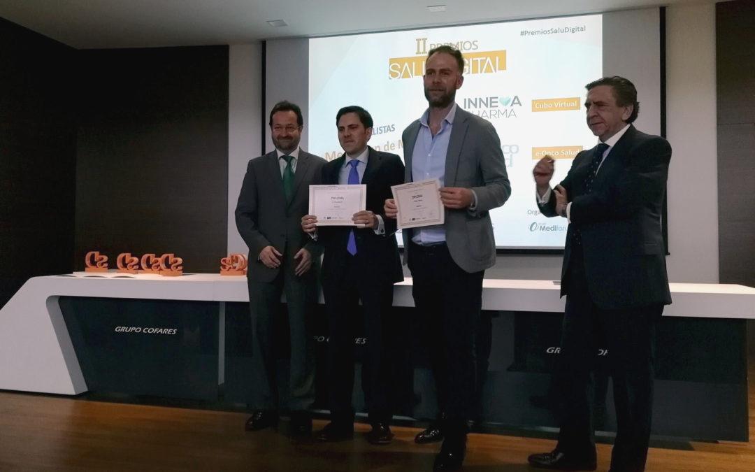 Premio SaluDigital a la mejor app de Medicina para Inneva Pharma