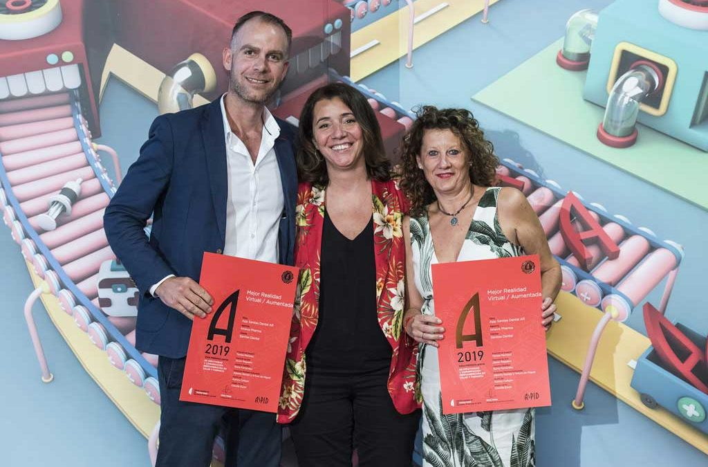 Premio Aspid para una app de Inneva Pharma con realidad aumentada